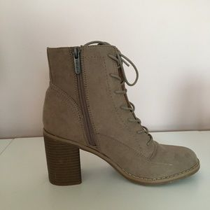 Heeled Lace-Up Bootie!
